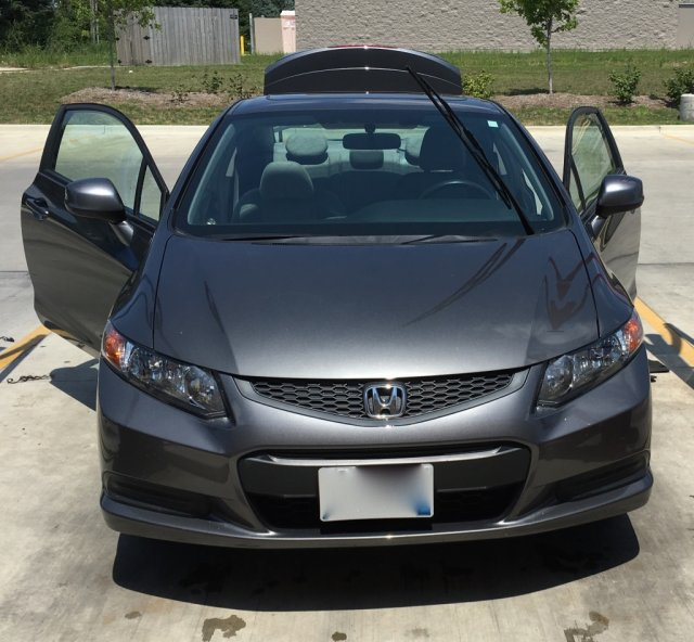 2012 Honda Civic EX-L Coupe